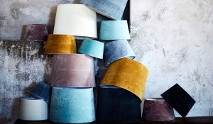 Velvet Lamp Shades from Abode