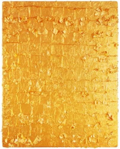 YvesKlein_Gold Leaf on Panel 1961